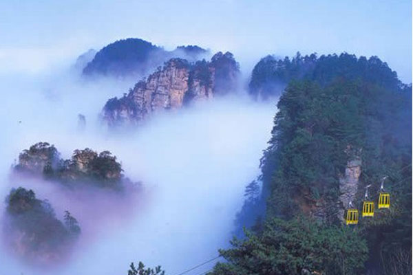 索溪峪风景名胜区