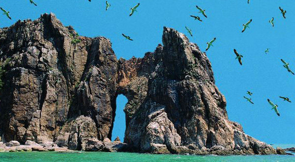 海驴岛上,山石景色,神奇莫测