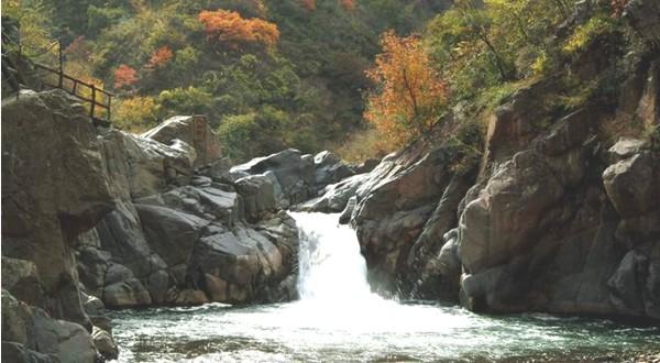 卢氏县豫西大峡谷风景区