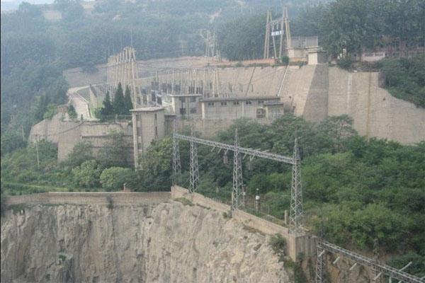 三门峡大坝景区