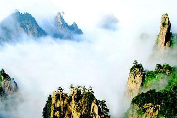 河南尧山景区