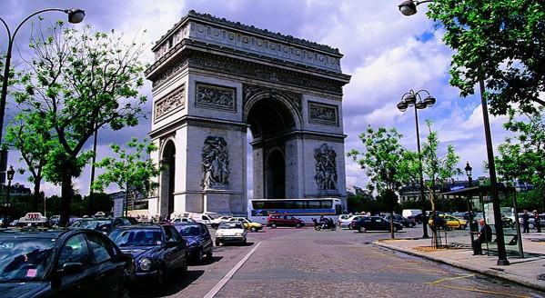 巴黎别墅立面图