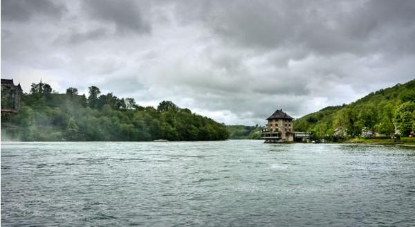 国外河港风景图片