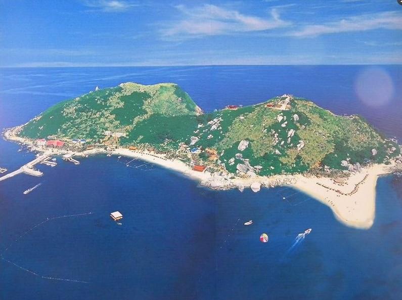分界洲岛  一是气候之分