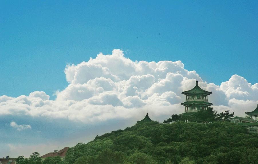 首批国家4a级风景名胜区-青岛海滨风景区的重要组成